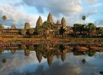 Angkor Wat near  Siem Reap, Cambodia.